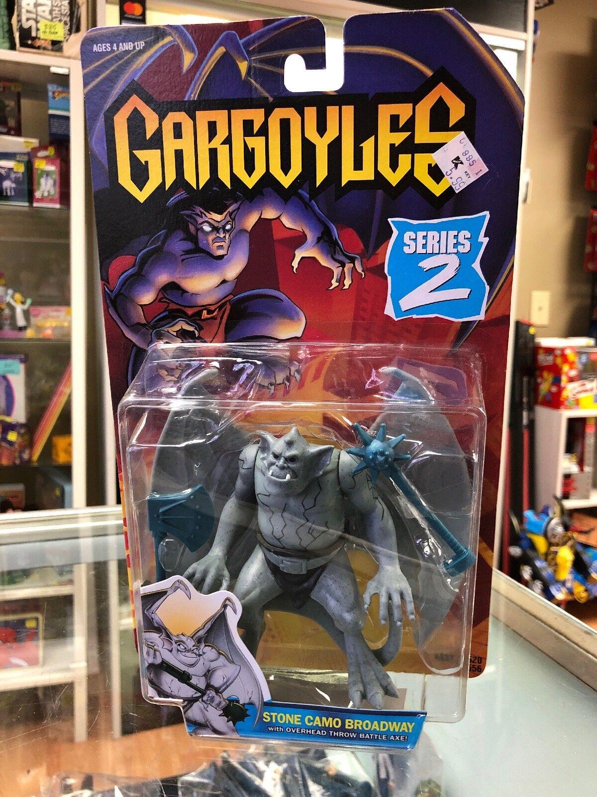 Gargoyles Series 2 Stone Camo Broadway with Overhead Throw Battle Axe