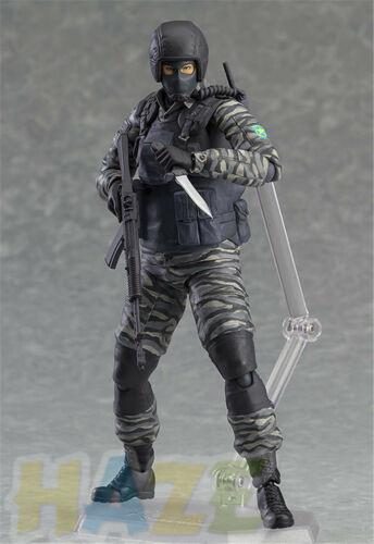 Figma 298 Metal Gear Solid 2 hijos de la Libertad Juguete Figura Soldado Gurlukovich
