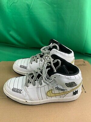 Nike 327048-102 AIR JORDAN White Shoes Boys 5Y   eBay