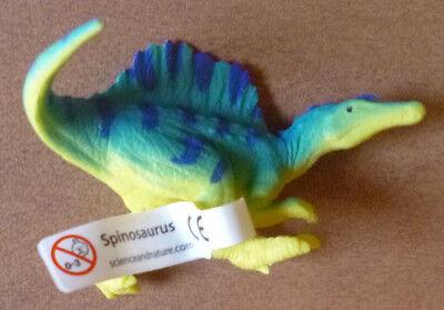 Smart Dinosaur Spinosaurus Small Replica 75mm Long. Clear And Distinctive