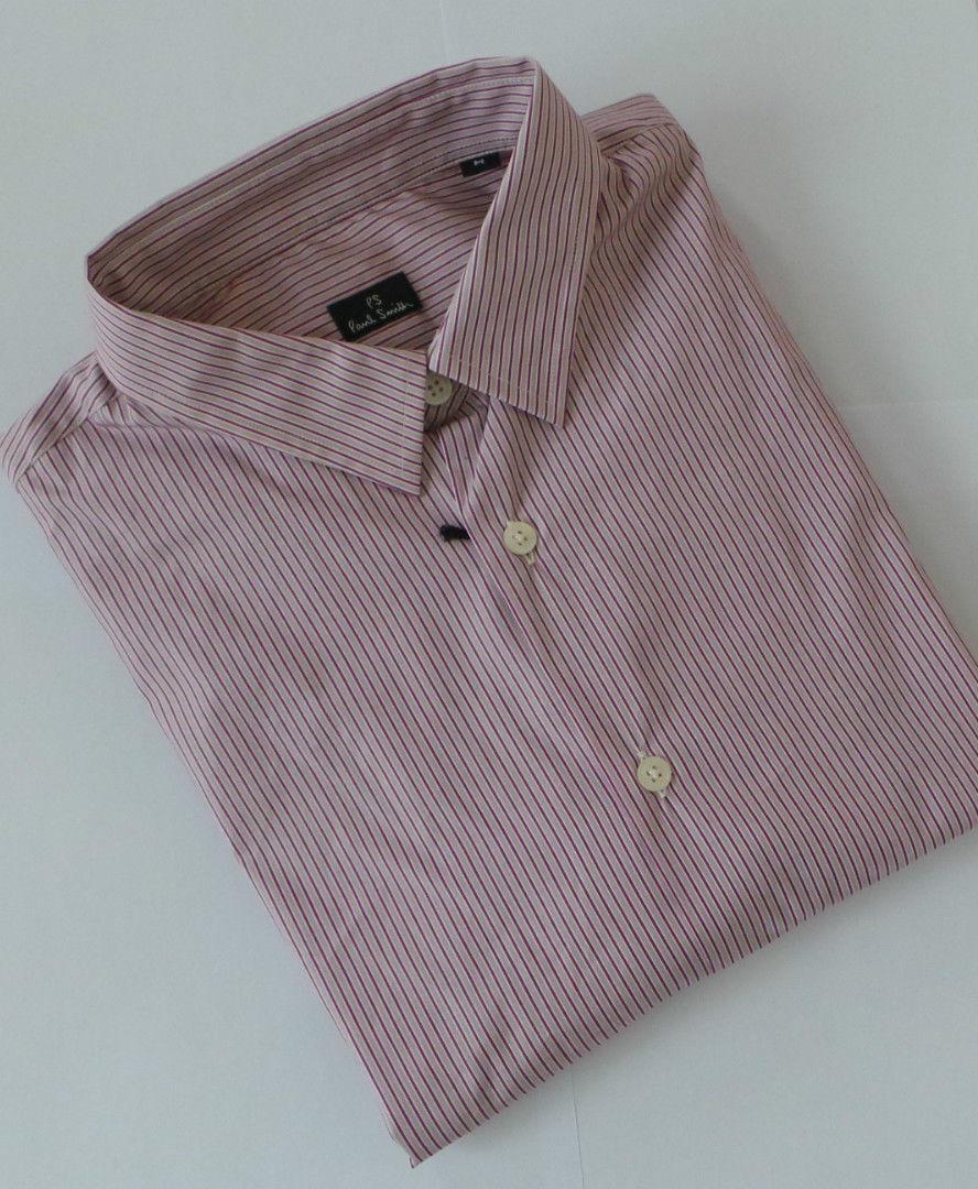 Paul Smith Camicia Taglia Taglia Taglia Extra-Large a righe slim fit PS Taglia XL 454de0