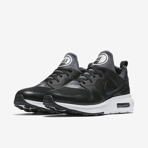 Para hombres Nike Air Max Prime Correr Zapatillas Para Correr Prime Negro/Blanco Nuevo en Caja 876068-001 2cd16a