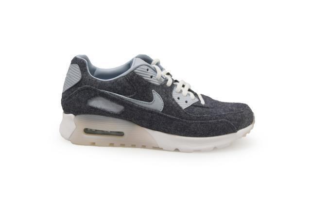 Womens Nike Air Max 90 Ultra Prm - 859522400 Grey - Modnight Navy Blue Grey 859522400 Trainers c4f96b