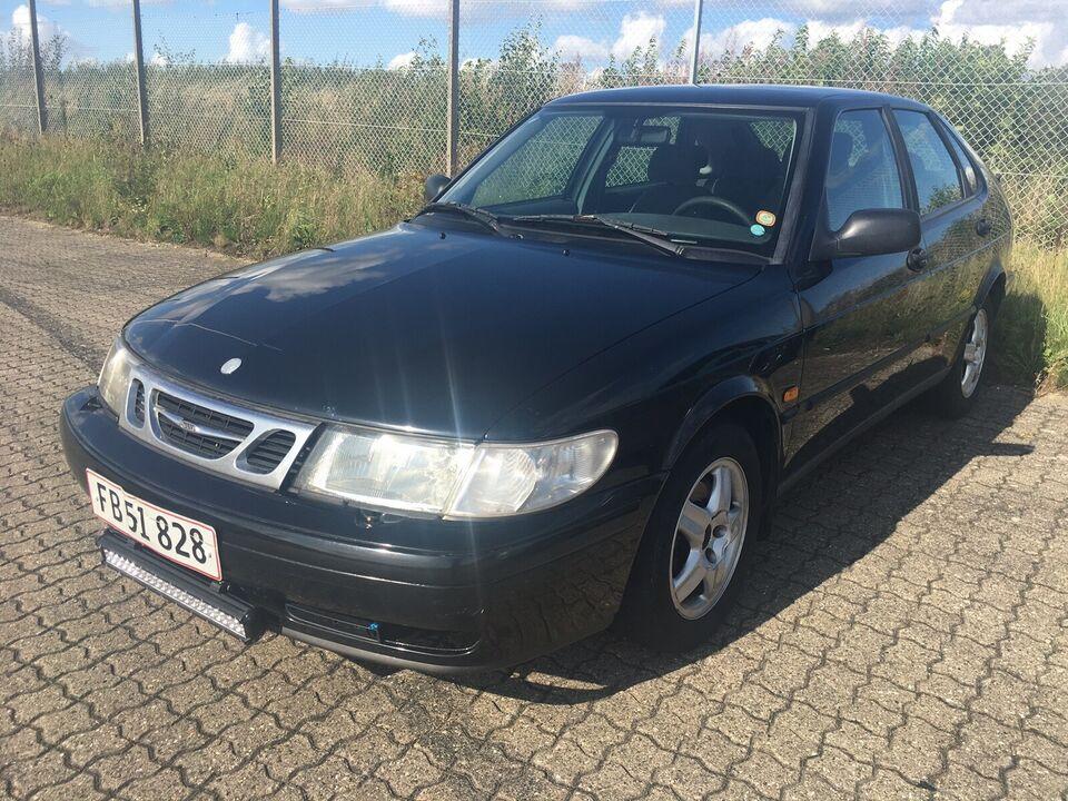 Saab 9-3, 2,0 T, Benzin