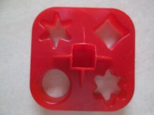 Tupperware 4 shape mini cookie appetizer cheese dough for Mini canape cutters