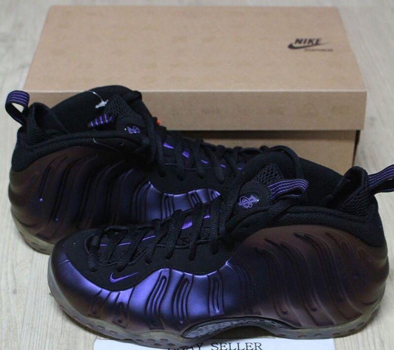 Nike Air Foamposite One 1 Retro 2009 EggPlant Purple Black Penny NEW Men 9.5 10