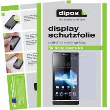 2x Sony Xperia NX Schutzfolie matt Displayschutzfolie Antireflex Displayfolie
