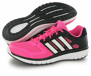 pink and black adidas trainers