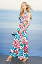 DVF Diane von Furstenberg 'New Yahzi Two' Floral Silk Wrap Maxi Dress uk6