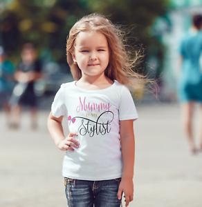 Mummy is my stylist baby//toddler child  vest or tshirt