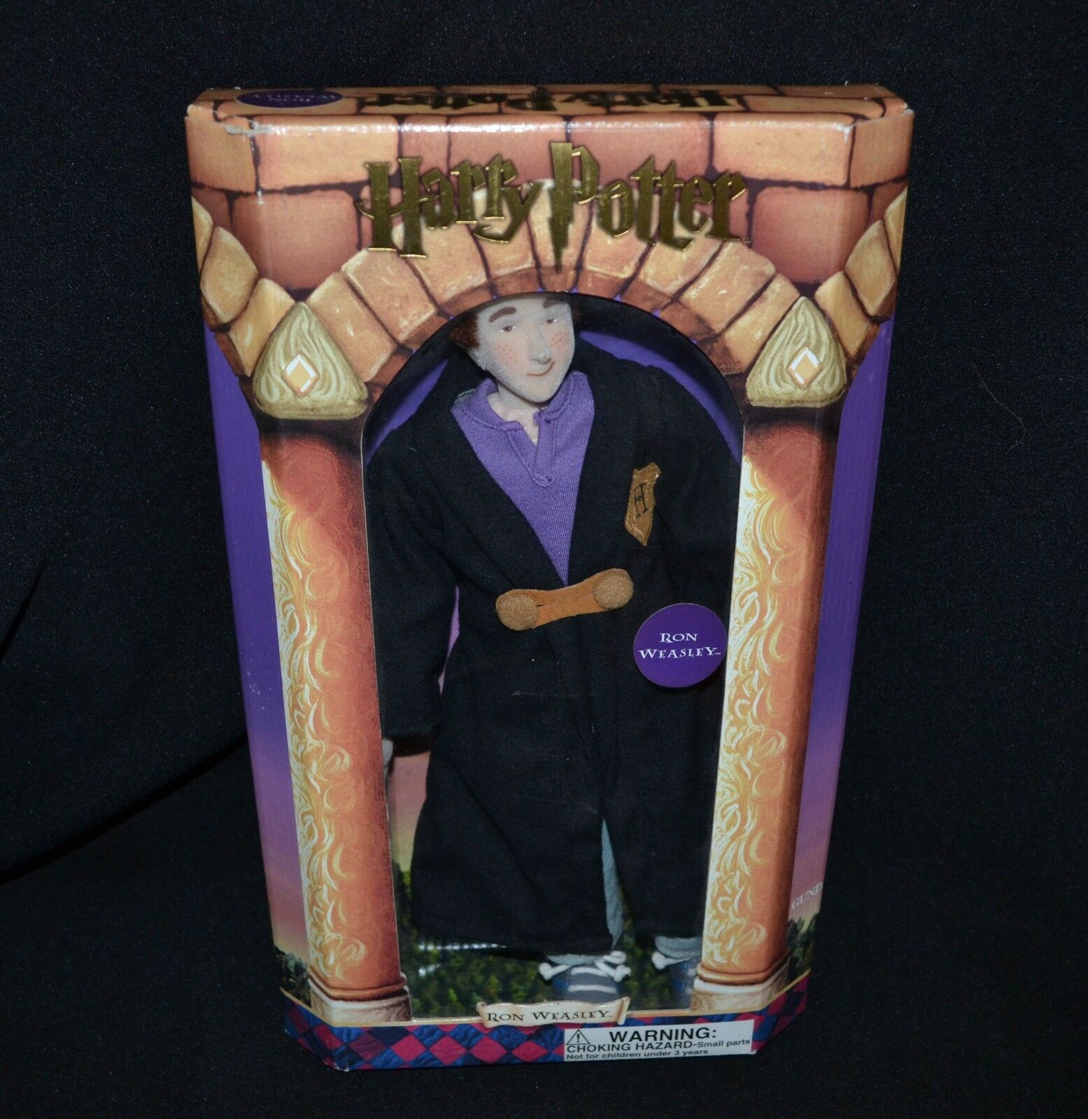 Harry krukmakare Ron Weasley Doll mjuk Body Gund 2000 I Original låda 32cm