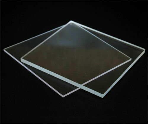 2MM 4MM /& 5MM CLEAR PLASTIC PERSPEX ACRYLIC CUT SHEET A3 SIZE 1MM 1.5MM 3MM