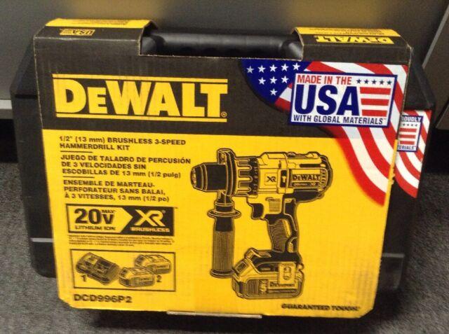 DeWALT Brushless 3-Speed Hammer Drill