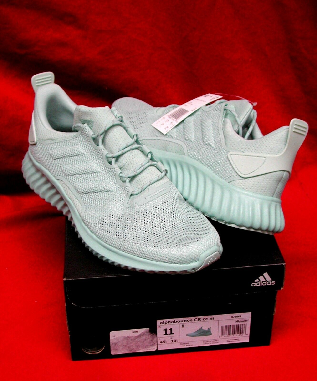 Adidas AlphaBounce City Climacool Running Sneakers Men's Size 11 US [NIB]