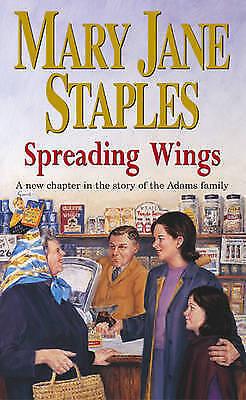 1 of 1 - MARY JANE STAPLES ___ SPREADING WINGS ___ BRAND NEW ___ FREEPOST