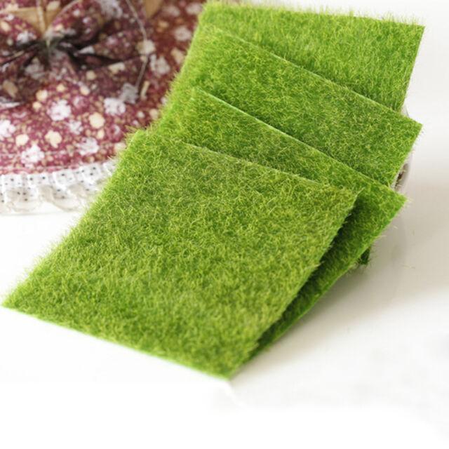 2PCS Moss for Miniature Garden DIY Mushroom Craft Pot Fairy Dollhouse POP. AU