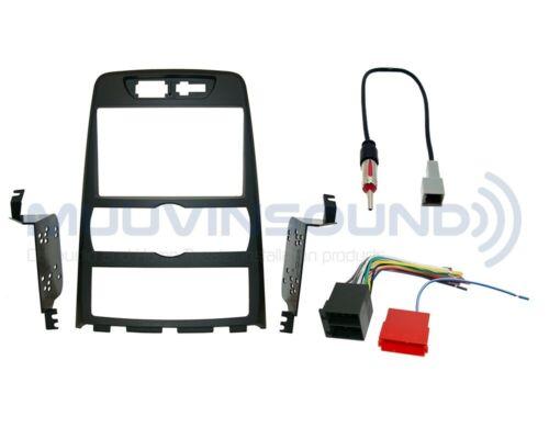 Wire Harness Antenna HY40 Radio Dash Kit Combo AUTOMATIC 2DIN MATTE BLACK