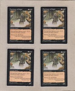 MTG-4X-Harbinger-of-Night-X4-Mirage-Rare-EX-NM-Playset