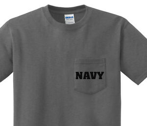 Pocket t-shirt men s United States Navy pocket tee mens dark gray ... 1a72e3fed13