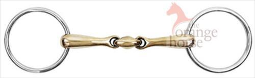 Waldhausen Snaffle Copper Snaffle-Double Broken