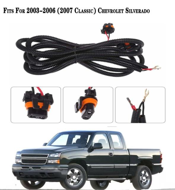Fog Light Wiring Harness For Chevy Silverado 2003