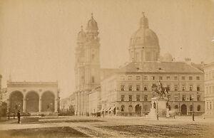 Munich C. 1880 - Place Platz Allemagne - 17