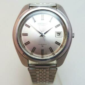 Seiko-7005-7080-Date-17-Jewels-Automatic-Mens-Watch-Authentic-Working