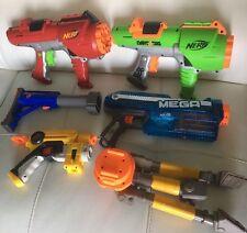 Nerf N-Strike lot of Dart Guns EBF 25 Stand Sholder Raider rampage Magnus Blast