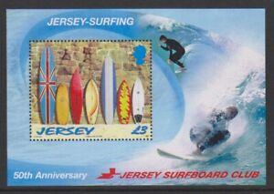 Jersey - 2009, Surfboard Club sheet - MNH - SG MS1441