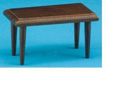 Walnut Item #CLA10294 Dollhouse Miniatures 1:12 Scale Side Table