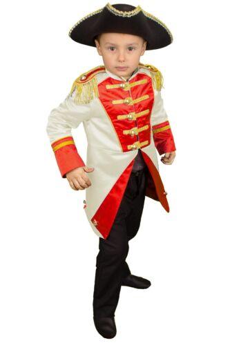 Uniform Bambini Giacca Soldato Costume Ragazzo Costume Carnevale Carnevale