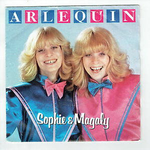 SOPHIE-E-MAGALY-Vinile-45T-7-034-ARLECCHINO-sophie-Magaly-RECORD-DI-GIOVE-102493