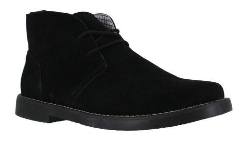Northwest Barlow Mens Black Premium Suede Lace Up Ankle Desert Boots SZ 6 TO 12