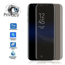 For Samsung Galaxy S8 Plus Full Screen Protector Film Anti-Spy Tempered Glass UK