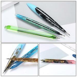 DIY-Hanmade-Epoxidharz-Kugelschreiber-Form-Silikon-Nachfuellung-Formen-Stift-X9B4
