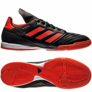 2c3bf1f1b Details about adidas Copa 17.3 Tango IN Indoor 2017 Soccer Shoes Black   Solar  Red (Orange)
