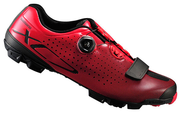 Shimano 2018 SH-XC7 Carbon MTB Boa Mountain Bike shoes Red 41 (US 7.6)