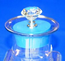 Crystal Topped Deluxe Blue Stopper for Vitamix 3600 & 4000 Blenders