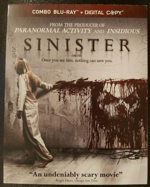 SINISTER Blu-ray with slip cover (classic Horror)