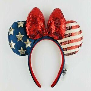 Disney-Parks-Americana-Stars-Strip-American-Flag-Minnie-Mouse-Ears-Headband