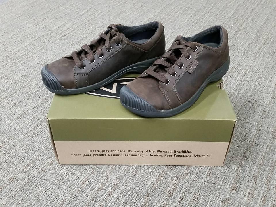 NIB Keen 1015145 Reisen Lace Full Grain Leather Brown Size 6.5