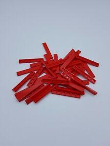 LEGO LOT 40 X TILE 1X6 EARTH BLUE BLEU FONCÉ REF 6636  *NEUF*