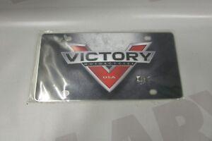 Brand-New-Genuine-Victory-Concrete-Custom-Licence-Plate-2863611-Canada-Size