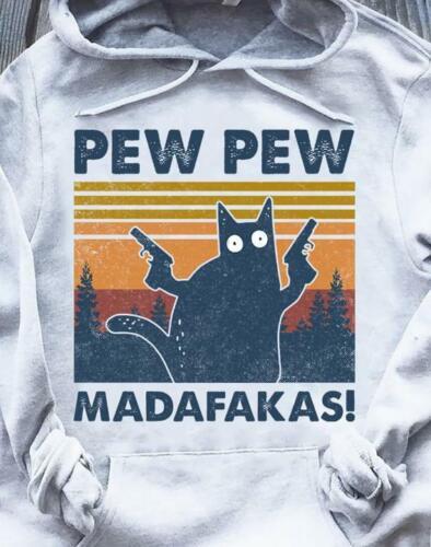 PEW PEW madafakas Sweat capuche sport gris