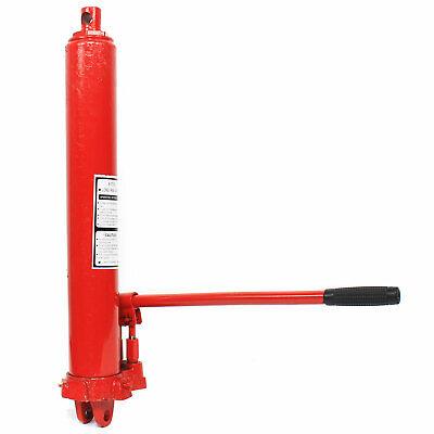 3 Ton//8 Ton Hydraulic Double//Single Pump Long Ram Hydraulic Jack Engine Lift Hoist Steel Slow Release w//Handle 3T Single Pump