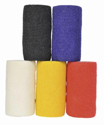 BANDAGE HAFTBANDAGEN SELBSTHAFTEND 10cm Viele Farben