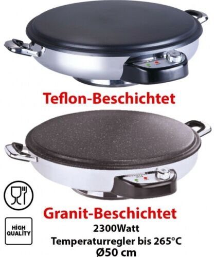 Deluxe naans Boulanger Granit Téflon ø50 2300 W Sac yufka machine katmer Fougasse