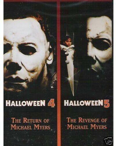 HALLOWEEN 4 & 5 NEW DVD