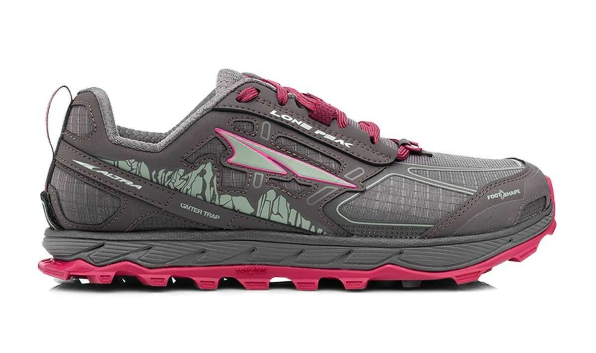 Altra Lone Peak 4.0 Womens - Ladies ultra trail running shoes, wide fit