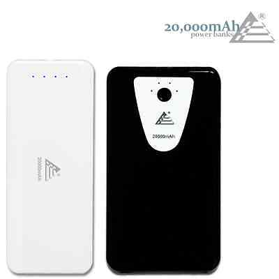 Power Bank Portable Charger 20000mAh Series for Samsung Galaxy S3, S4, Note 2, 3